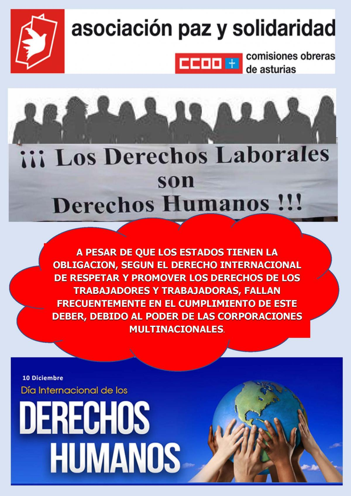 SOLIDARIDAD EN LA DEFENSA DE LOS DDHH PARA TODAS LAS PERSONAS A NIVEL GLOBAL